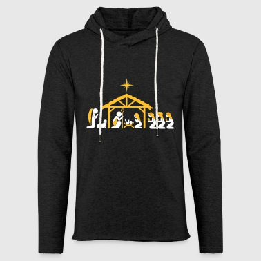 Nativity Scene - Light Unisex Sweatshirt Hoodie