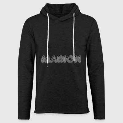Marion name first name name day - Light Unisex Sweatshirt Hoodie