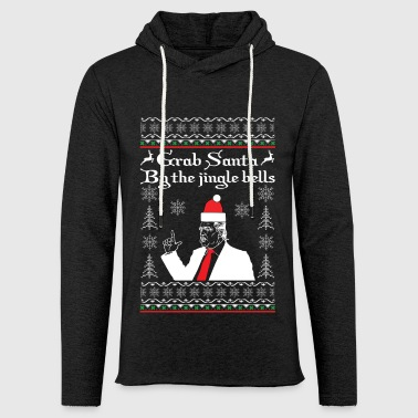 Grave Santa by the Jingle Bells - Light Unisex Sweatshirt Hoodie
