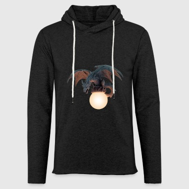 Dragon is roaring gift idea - Light Unisex Sweatshirt Hoodie