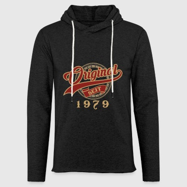 Original since 1979 - vintage gift birthday - Light Unisex Sweatshirt Hoodie