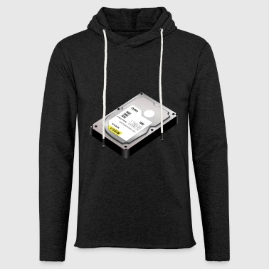 hard disk - Light Unisex Sweatshirt Hoodie