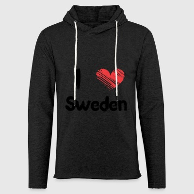 I love Sweden - Light Unisex Sweatshirt Hoodie