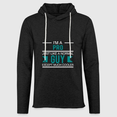 Pro - Gamer - Gift I'am the King sayings - Light Unisex Sweatshirt Hoodie