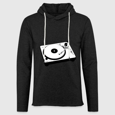 Turntable Turntable Vinyl Retro Gift - Light Unisex Sweatshirt Hoodie