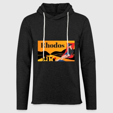 Rhodes - Greek island - Light Unisex Sweatshirt Hoodie