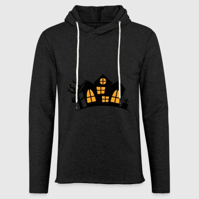haunted House - Sudadera ligera unisex con capucha