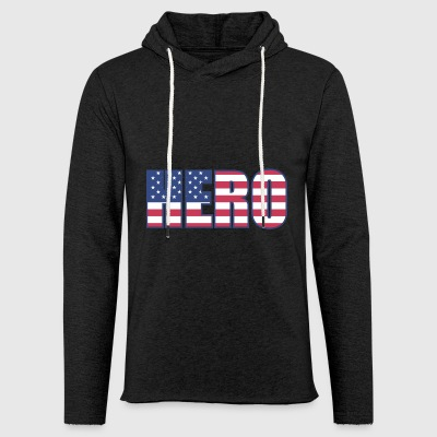 Hero - Light Unisex Sweatshirt Hoodie