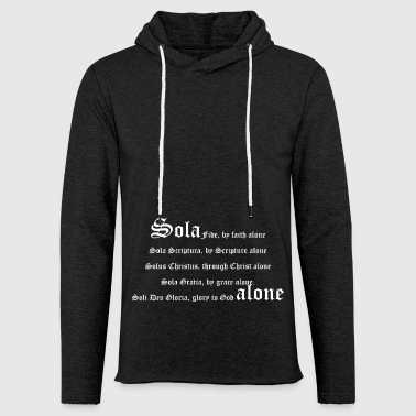 Solaswhite_copy - Light Unisex Sweatshirt Hoodie