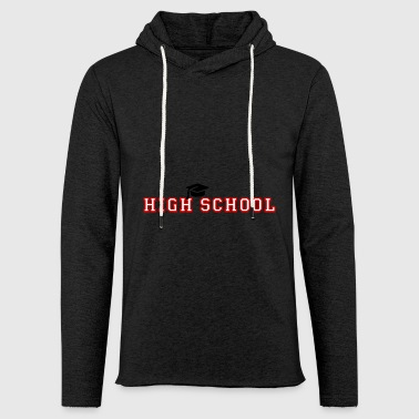 high School - Kevyt unisex-huppari
