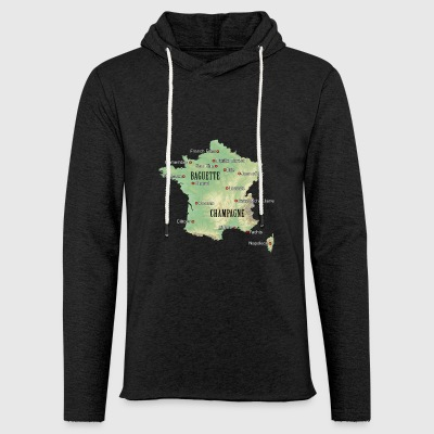France Atlas - Light Unisex Sweatshirt Hoodie