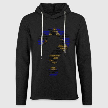 Numbers - Light Unisex Sweatshirt Hoodie