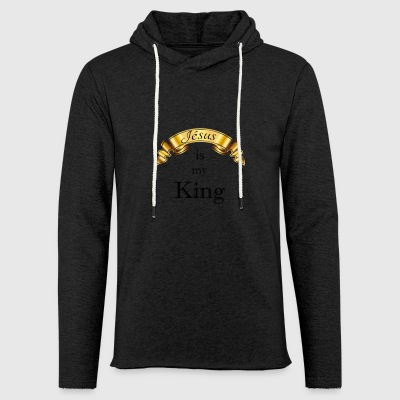 Jesus is my King - Light Unisex Sweatshirt Hoodie