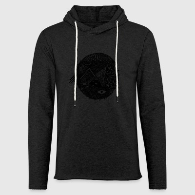 Strange world - Light Unisex Sweatshirt Hoodie