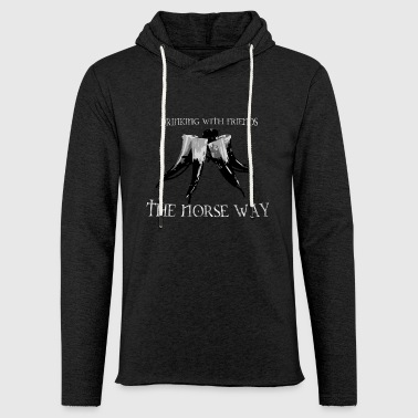 Drinking with Friends - The Norse Way! - Light Unisex Sweatshirt Hoodie