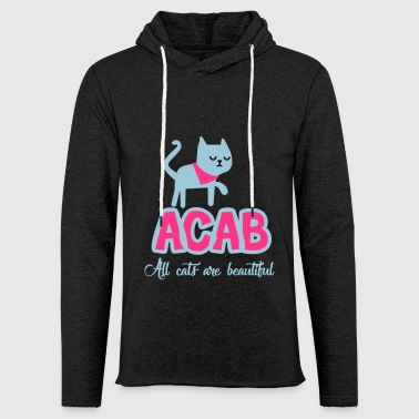 All Cats Are Beautiful - Lett unisex hette-sweatshirt