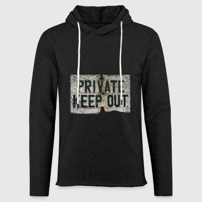 PRIVATE - Light Unisex Sweatshirt Hoodie