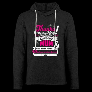 Mothering Day! Motherday! Mother's day! - Light Unisex Sweatshirt Hoodie