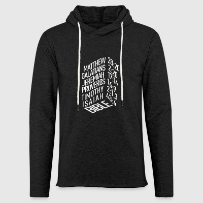 Bible verses - Light Unisex Sweatshirt Hoodie