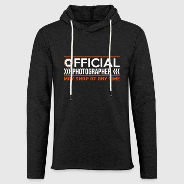 Official Photographer funny - Light Unisex Sweatshirt Hoodie
