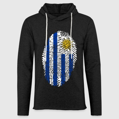 URUGUAY FINGERABPRESSION. SOUTH AMERICA SPANISH - Light Unisex Sweatshirt Hoodie