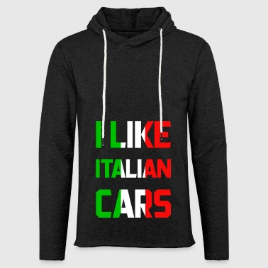 Italy cars - Light Unisex Sweatshirt Hoodie