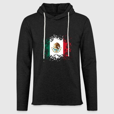 home country roots wurzeln love Mexiko png - Leichtes Kapuzensweatshirt Unisex