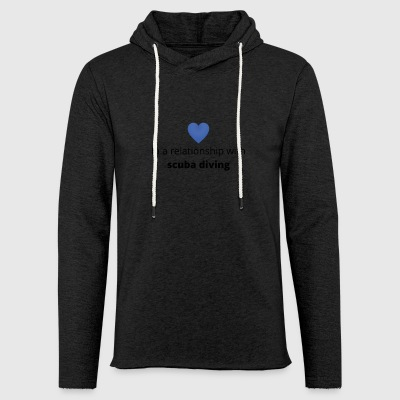 gift single taken relationship with scuba diving - Light Unisex Sweatshirt Hoodie