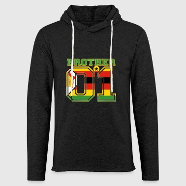 brother brother brother 01 partner Zimbabwe - Light Unisex Sweatshirt Hoodie