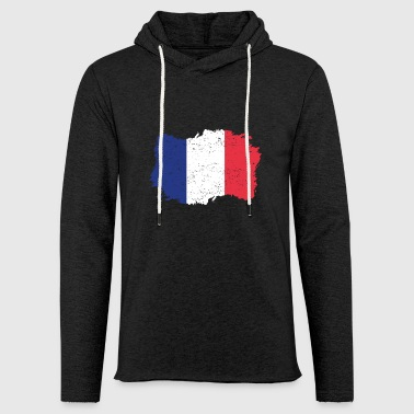 Roots Accueil Drapeau France .png - Sweat-shirt à capuche léger unisexe
