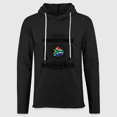 Never Underestimate Man Roots SOUTH AFRICA png - Light Unisex Sweatshirt Hoodie
