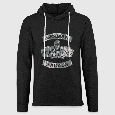 German Badass Soccer Tattoo Army - Light Unisex Sweatshirt Hoodie