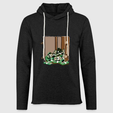 money cases - Light Unisex Sweatshirt Hoodie