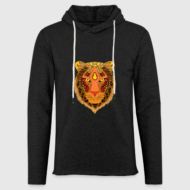 Tiger - Light Unisex Sweatshirt Hoodie