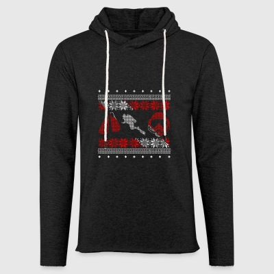 Diver ugly sweater xmas gift christmas - Light Unisex Sweatshirt Hoodie