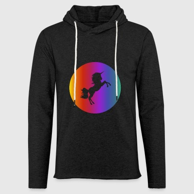 Magic Unicorn - Light Unisex Sweatshirt Hoodie