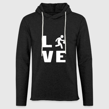 Basketball love sports basketball shirt - Light Unisex Sweatshirt Hoodie