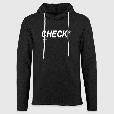 Poker Check Raise - Sweat-shirt à capuche léger unisexe