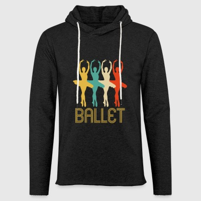 Awesome Retro Pop Art Ballet Gifts for Ballerinas - Light Unisex Sweatshirt Hoodie
