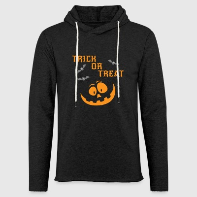 Trick Or Treat - Leichtes Kapuzensweatshirt Unisex