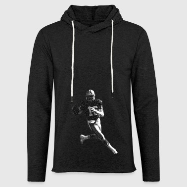 Joe de football - Sweat-shirt à capuche léger unisexe