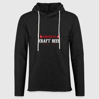 Powered By Craft Beer Craft Beer Beer Gift - Light Unisex Sweatshirt Hoodie