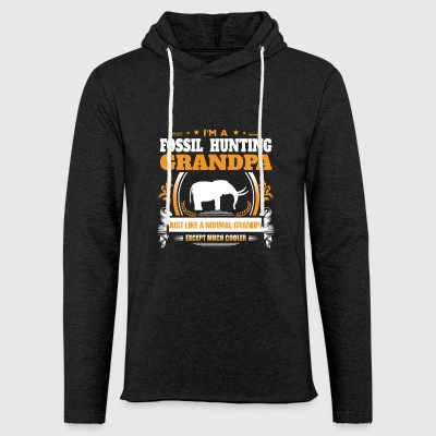 Fossil Hunting Grandpa Shirt Gift Idea - Light Unisex Sweatshirt Hoodie