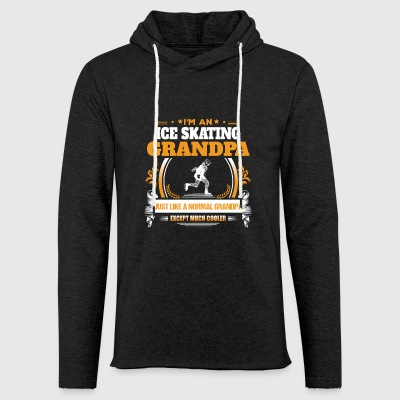 Ice Skating Grandpa Shirt Gift Idea - Light Unisex Sweatshirt Hoodie