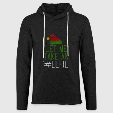 Let Me Take On Elfie stile Ugly - Felpa con cappuccio leggera unisex