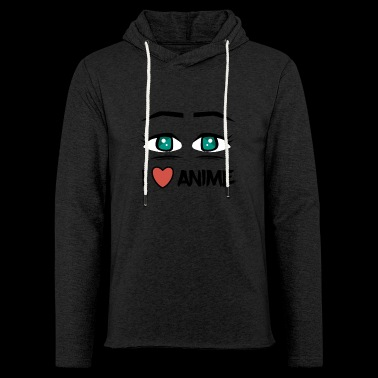 I Love Anime - Light Unisex Sweatshirt Hoodie