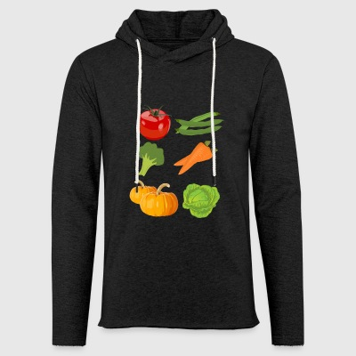 kuerbis pumpkin halloween vegetables vegetables180 - Light Unisex Sweatshirt Hoodie