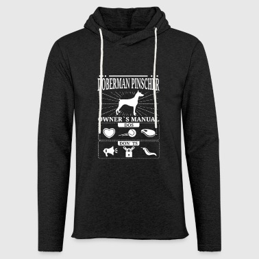 Doberman pinscher owner gift - Light Unisex Sweatshirt Hoodie