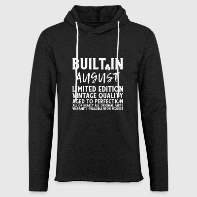 BUILT IN AUGUST - LIMITED EDITION... - Leichtes Kapuzensweatshirt Unisex