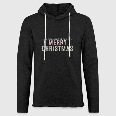 Merry Christmas Cool Christmas Lights Holiday Xmas - Light Unisex Sweatshirt Hoodie